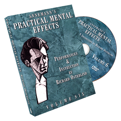 Annemann's Practical Mental Effects Vol. 6 by Richard Osterlind