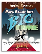 Papa Rabbit Hits the Big Time (with DVD) by Daryl
