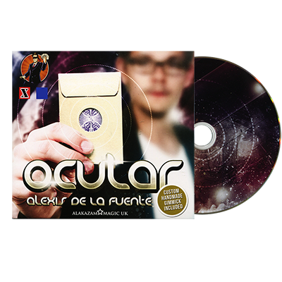 Ocular Red (DVD and Gimmick) by Alex De La Fuente and Alakazam Magic