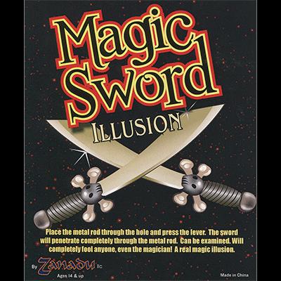 The Magic Sword by Zaubershop-Frenchdrop