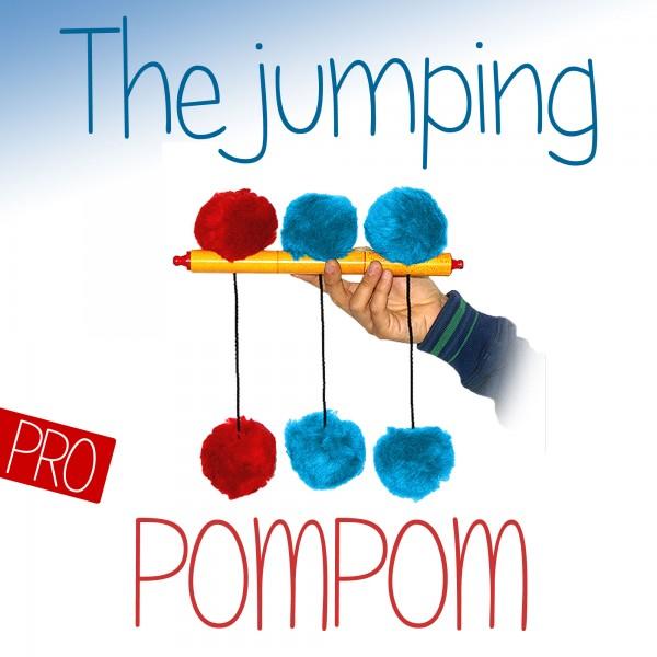 Jumping POM POM - Zaubertrick für die Bühne bei Zaubershop-Frenchdrop