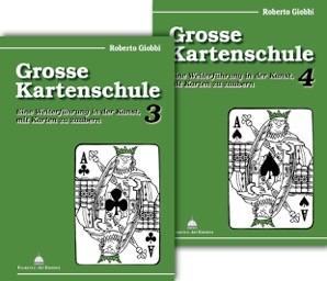 Grosse Kartenschule 3 & 4 - Roberto Giobbi