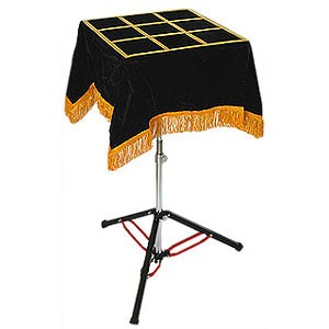 Zaubertisch - Deluxe - Magicians Table (Black Art Table)