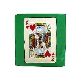 Card silk - King of Heart - 45 cm (18 inches)