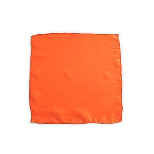 Seidentuch zum Zaubern - orange - 6 in./ca. 15cm