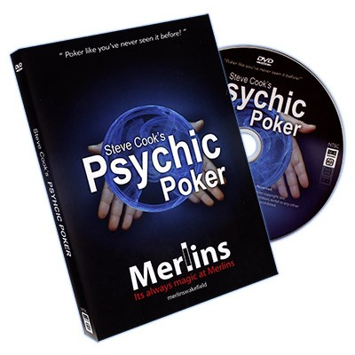 Psychic Poker (With DVD) by Steve Cook