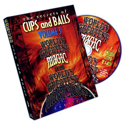 Cups and Balls Vol. 3 (World's Greatest) bei Zaubershop Frenchdrop
