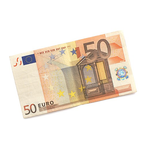 Flash Paper - Burning money - 50 Euro - Inhalt 10 Stück - Bühnengeld