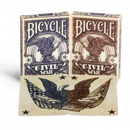 Bicycle - Civil War - blue union