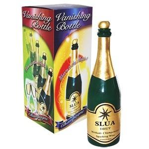 Verschwindende Flasche - Vanishing bottle - Champagne