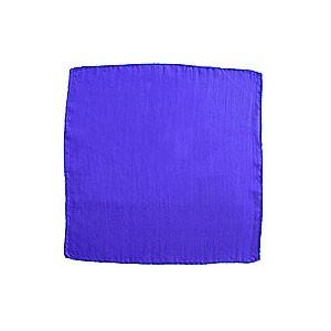 Seidentuch zum Zaubern - blau - 12 in./ca. 30cm | Zauberzubehör
