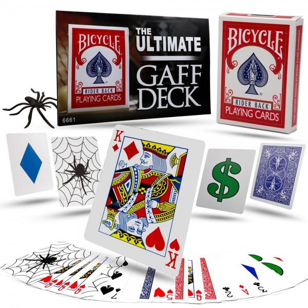 Ultimate Gaff Bicycle Deck - Bulk Version bei Zaubershop-Frenchdrop