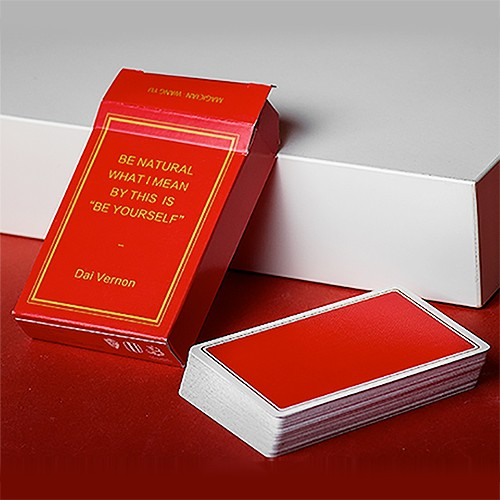 Magic Notebook - Red | Spielkarten