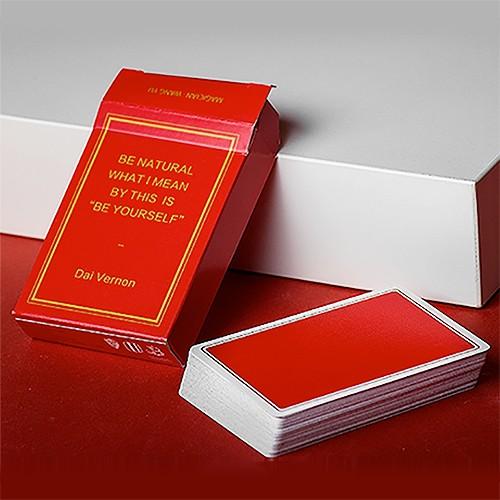 Magic Notebook - Red | Spielkarten