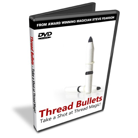 Thread Bullets DVD - Steve Fearson - Vectra Line