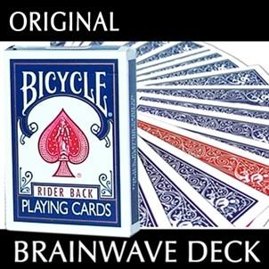 Brainwave Deck Bicycle inkl. Routine Red
