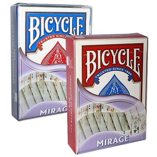 Bicycle - Mirage deck blau | Trickspiel