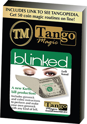 Tango Blinked Left Handed (Gimmick and Online Instructions) by Tango Magic | Zaubertrick