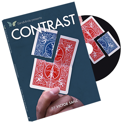 Contrast (DVD and Gimmick) by Victor Sanz and SansMinds bei Zaubershop Frenchdrop