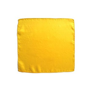 Seidentuch zum Zaubern - gelb - 18 in./ca. 45cm