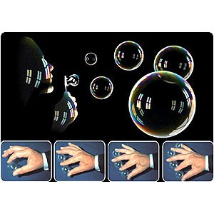 Multiplying balls - Bubble - Crystal - Luftblasen