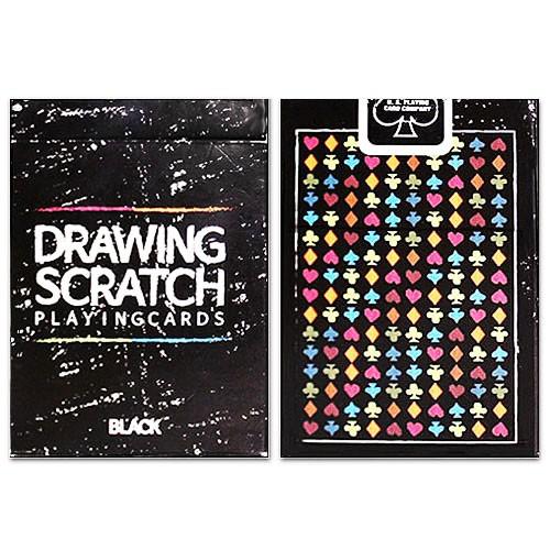 Drawing Scratch Deck by JL - Spielkarten - Poker