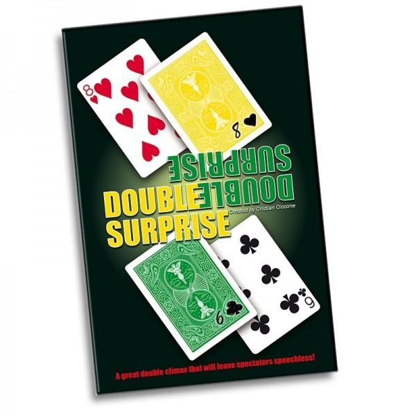 Kartentrick Doppelte Überraschung - Double Surprise