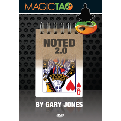 Noted 2.0 (DVD and Gimmick) by Gary Jones and Magic Tao