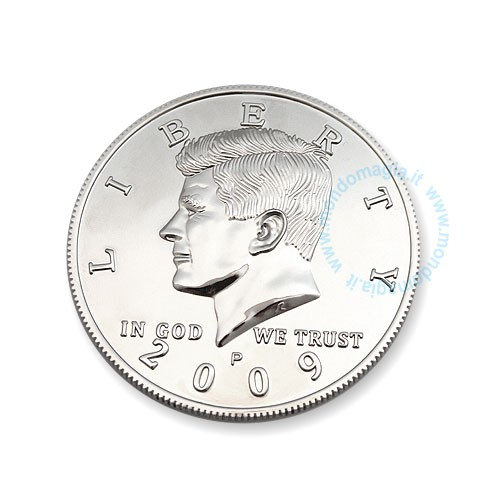 Riesenmünze - Zaubern mit Münzen - Jumbo Coin bei Zaubershop Frenchdrop