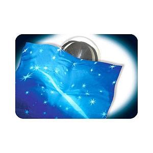 Zombie silk - Zombie Tuch blau mit sternen