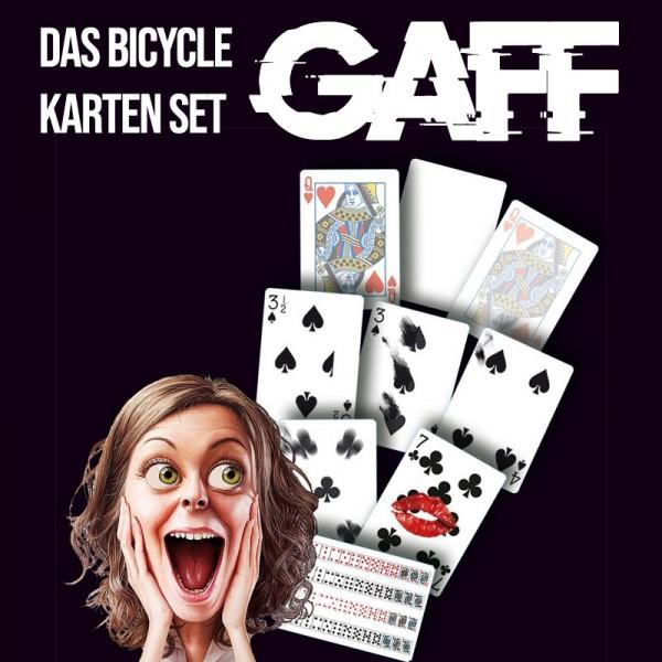 Bicycle Gaff Karten | Zauberzubehör