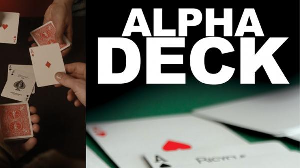 Alpha Deck by Richard Sanders bei Zaubershop-Frenchdrop