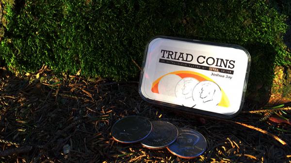 Triad Coins by Joshua Jay