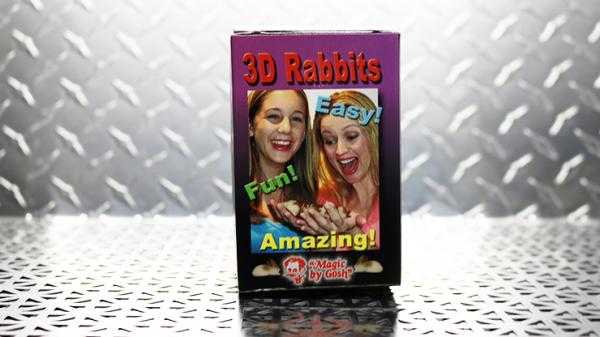 3D Rabbit Set by Goshman | Zaubertrick exklusive Zauberartikel bei Zaubershop Frenchdrop