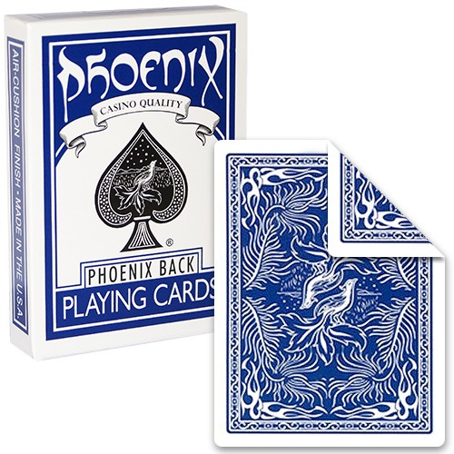 Phoenix - Parlour Doppelrücken Deck - blau auf beiden Seiten