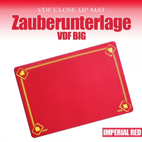 Zauberunterlage Imperial Rot - Zaubershop-Frenchdrop