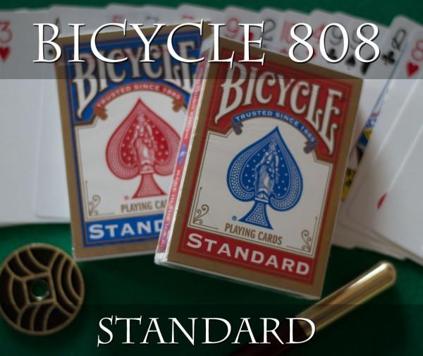 Bicycle 808 Rider Back Standard - Pokerkarten - Roter Rücken