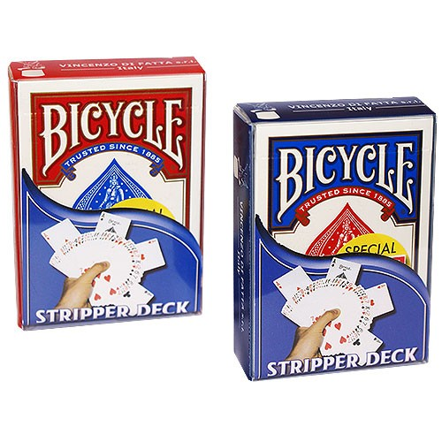 Red Bicycle Stripper Deck Original