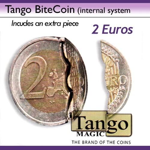 Bite Coin - Beißmünze 2 Euro (traditional system) von Tango jetzt bei Zaubershop-Frenchdrop