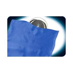 Zombie silk - Zombie Tuch blau