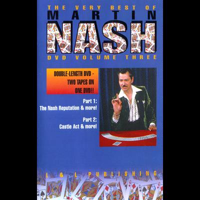 Very Best of Martin Nash 1 bei Zaubershop Frenchdrop