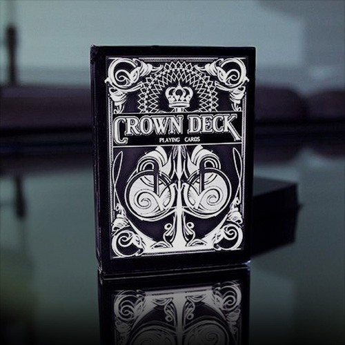 Black Crown Spielkarten bei Zaubershop Frenchdrop