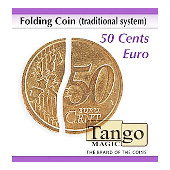 Faltmünze - Folding Coin 50 Cent Euro (traditional system) | Zaubertrick