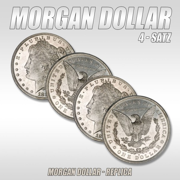 Morgan Dollar Set - Zaubershop-Frenchdrop
