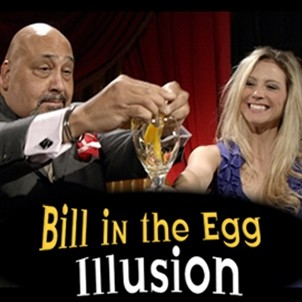 Bill In Egg Illusion - Geldschein in Ei Illusion