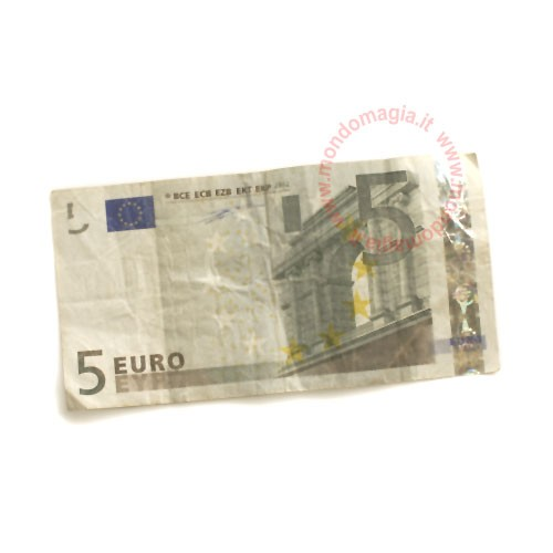 Flash Paper - Burning money - 5 Euro - Inhalt 10 Stück