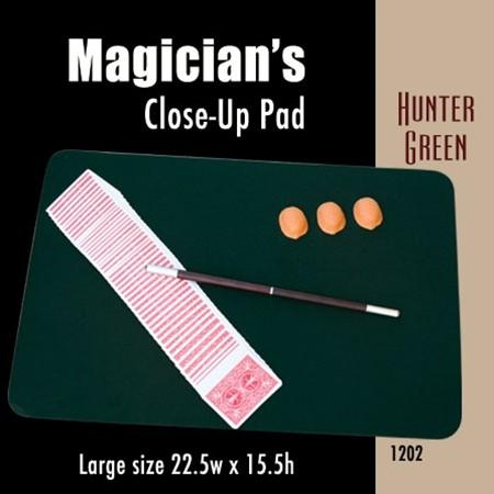 """Close up Pad Large Size (Hunter Green) 22.5"""" x 15.5"""" - Zauberunterlage"""