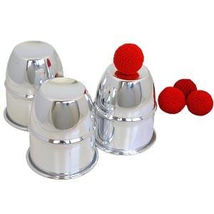 Becherspiel - Cups and Balls - Aluminium | Zauberartikel