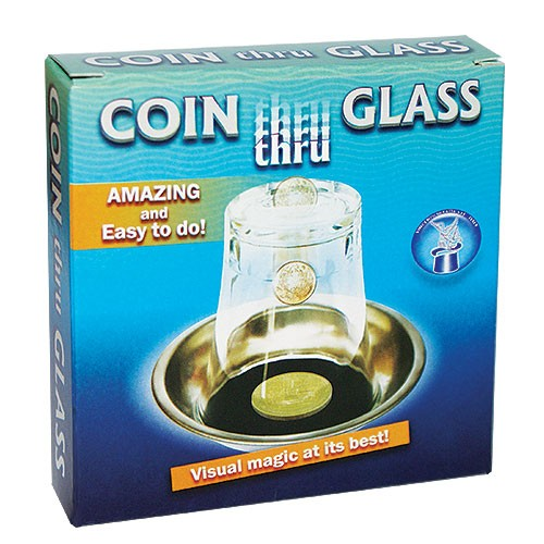Münze durch Glas - Coin Thru Glass