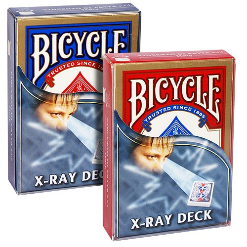 Bicycle - X ray deck - Rot | Trickspiel